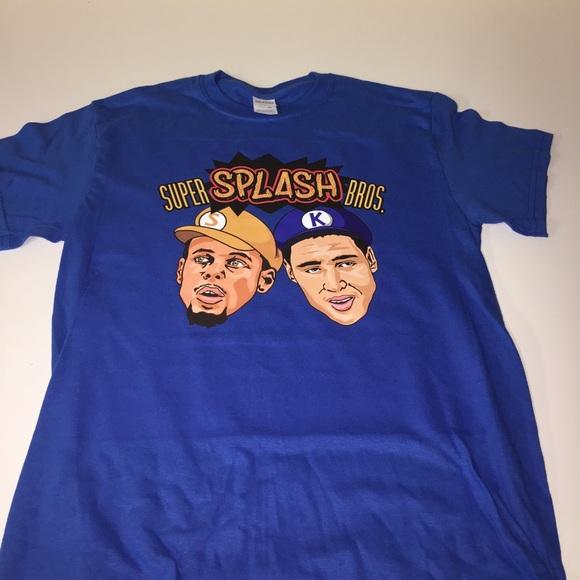 35ff8797d Golden State Warriors Super Splash Brothers Shirt